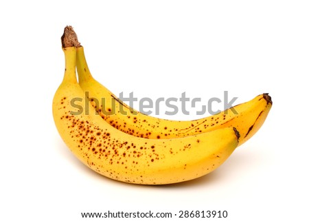 Spotted Bananas - stock photo