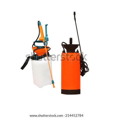 sprayer under the white background - stock photo