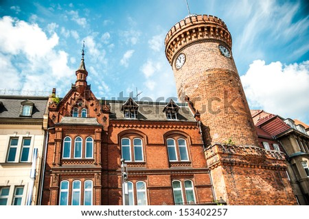 Spremberger tower in Cottbus. Germany