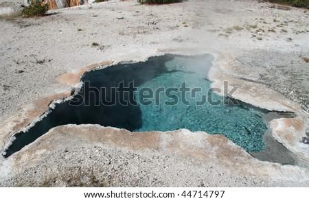 Spring at Yellowstone - stock photo