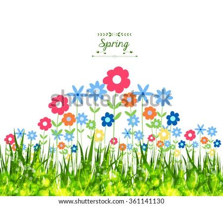 Spring Background - stock photo