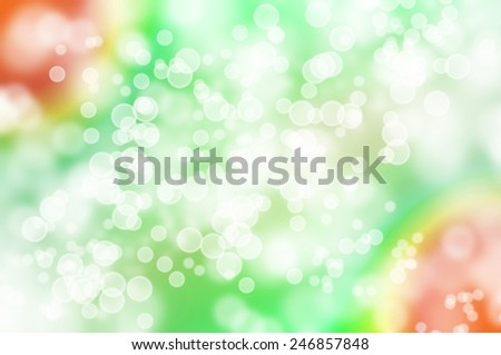 spring bokeh background with blur bright bubbles