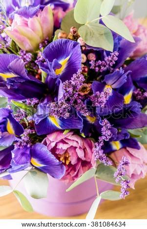 spring bouquet - stock photo