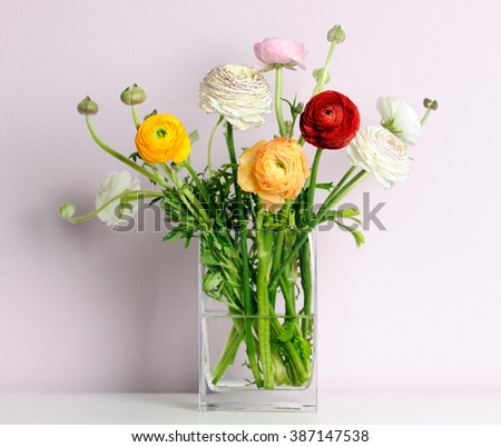 spring bouquet - stock photo