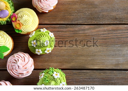 Spring Easter pastry, food closeup - stock photo
