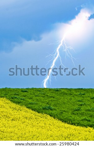 Spring field and thunderbolt