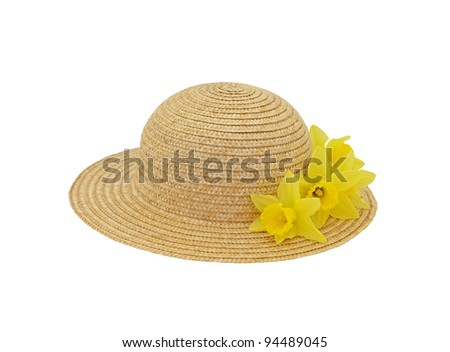 Spring Hat - stock photo