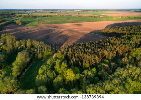 Spring in Lithuania - stock photo