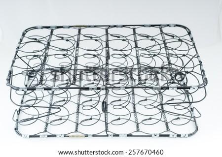 Spring mattresses - stock photo