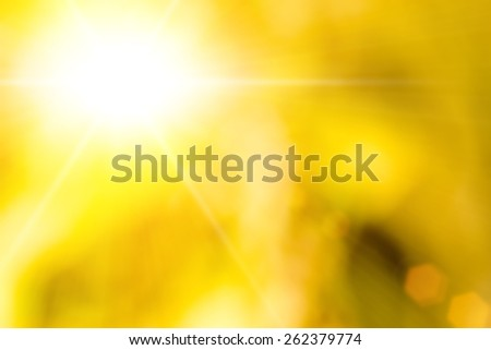 spring natural bokeh background or backdrop with sun light - stock photo