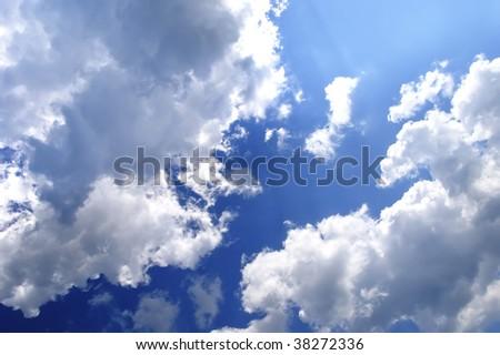 Spring Sky - stock photo