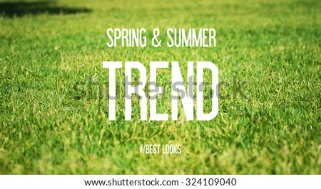 SPRING & SUMMER - TREND - BEST LOOKS