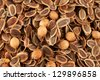 Sprinkle of fennel seeds - stock photo