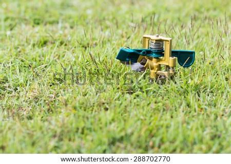 Sprinkler head - stock photo