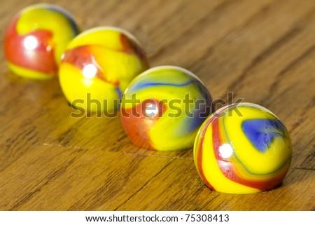 Spumoni Marbles - stock photo