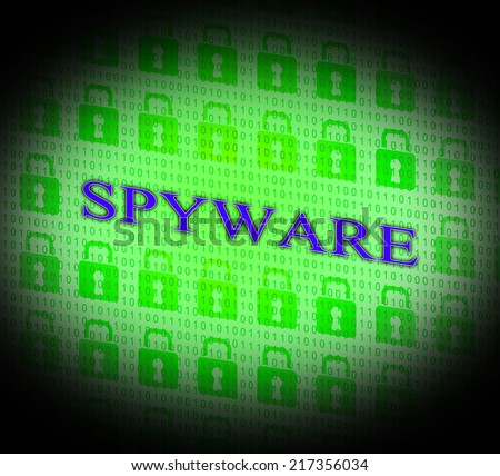 Spyware Hacked Indicating Attack Malicious And Hacking