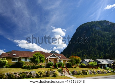 Squamish - living under the Stawamus Chief, British Columbia, Canada