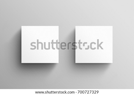 Square business card mockup template stock photo edit now square business card mockup template accmission Image collections