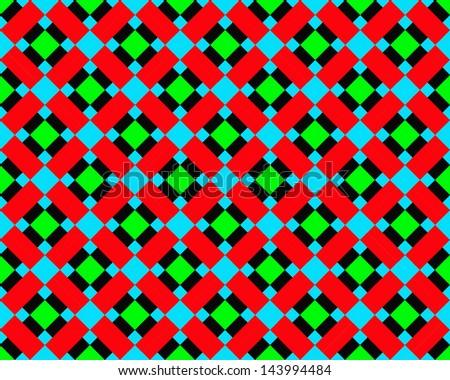 square Pattern - stock photo