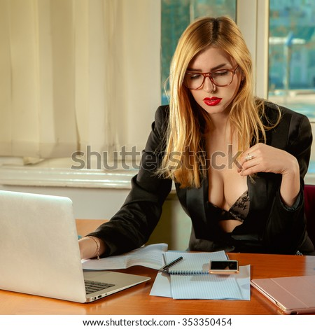 office secretary stock images royalty free images vectors