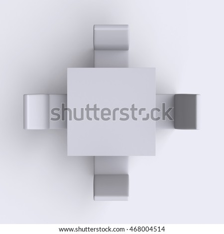 Dining Chair Top View table and chairs stock images, royalty-free images & vectors