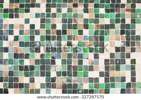 squared floor - stock photo