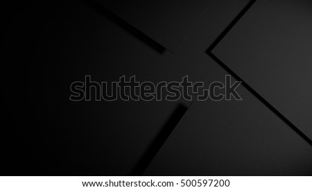 Squares arranged on a dark background to form an abstract 3d illustration