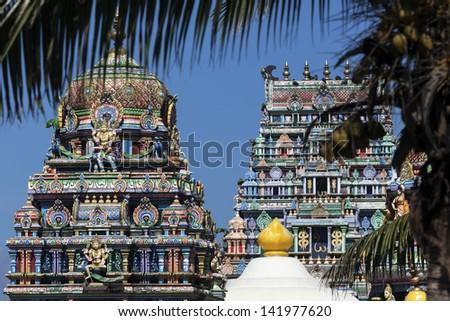 Sri Siva Subramaniya Swami Hindu Temple in Nadi, Fiji - stock photo