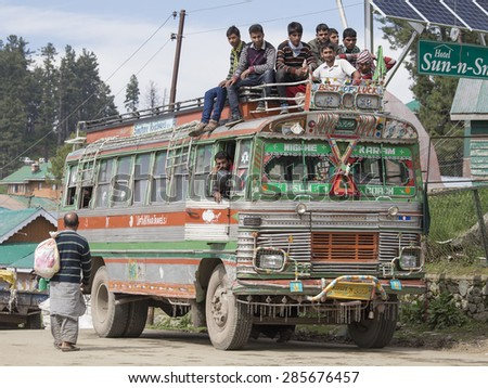 Image result for indians riding on roof of bus
