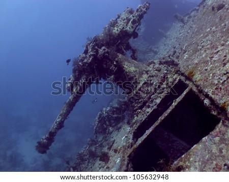 SS Thistlegorm - stock photo