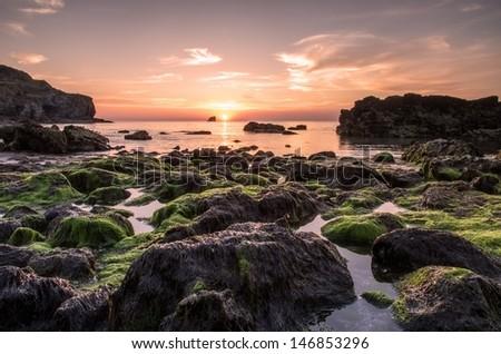 St Agnes Sunset Foto de stock (libre de regalías)146853296: Shutterstock