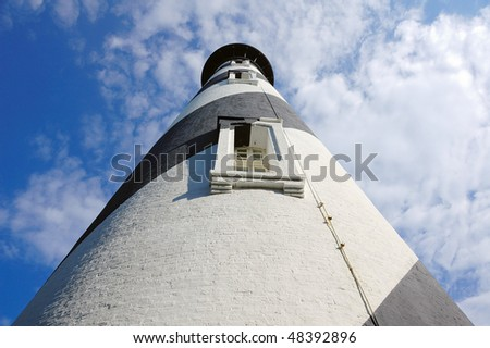 St Augustine Lighthouse Tower - stock photo