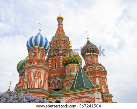 St.Basil's Cathedral in Moscow