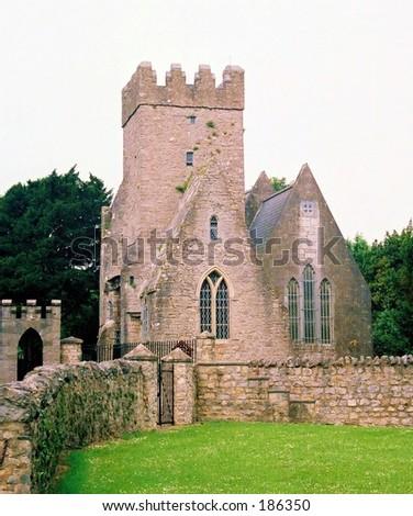 St. Brendan's Church-Clonfort, Ireland - stock photo
