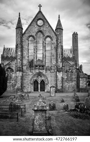 St. Canice's Cathedral and graveyard, Kilkenny, County Kilkenny, Ireland