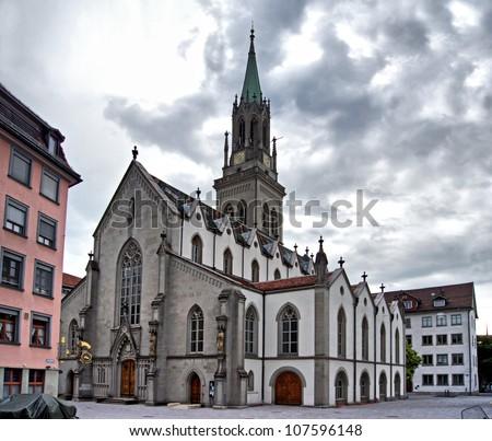 St.Gallen - stock photo