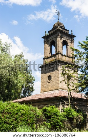 St. George's Cathedral, Addis Ababa, Ethiopia - stock photo