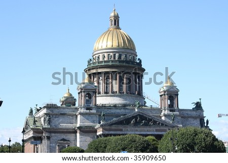 St. Isaac's Cathedral. St. Petersburg. Russia.