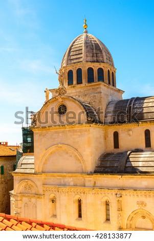 St. James Cathedral in Sibenik, Croatia