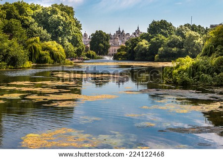 St James Park, London, UK - stock photo