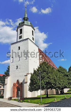 St. John's Church - stock photo