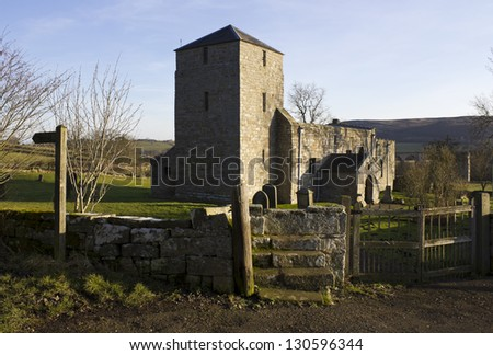 St. John the Baptist Church, Edlingham. Northumberland. England.