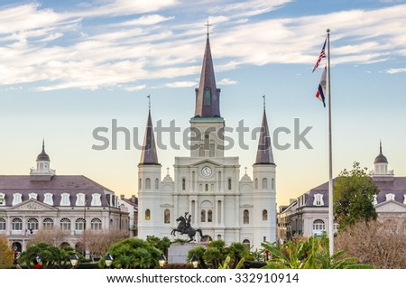 St. Louis Cathedral - stock photo