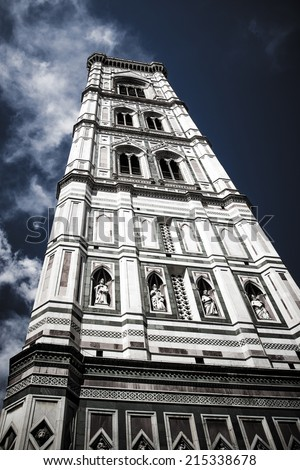 St. Maria del Fiore - the huge Cathedral of Florence