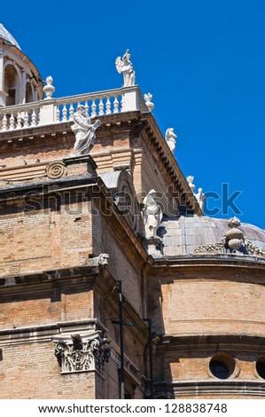 St. Maria della Steccata Shrine. Parma. Emilia-Romagna. Italy. - stock photo