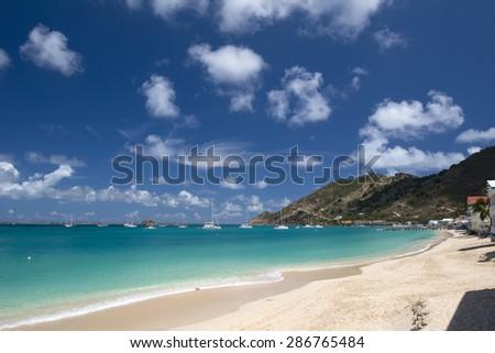 St Martin, Caribbean - stock photo