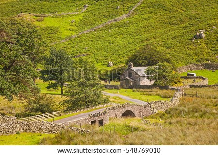 St Martins Church is located in the valley of Martindale in Cumbria, in the English Lake District. The present building was probably erected at the end of the 16th century.