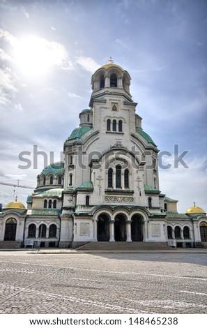 St Nedelya Church in Sophia, Bulgaria - stock photo