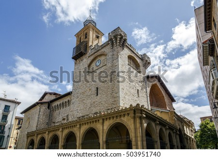 St. Nicholas Church in Pamplona is a Catholic church located in the old quarter of Pamplona (Navarra, Spain).
