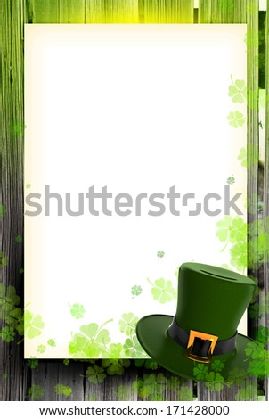 St.Patrick's Day background. - stock photo